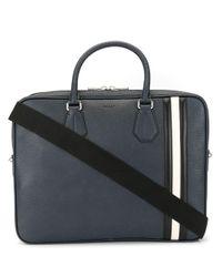 Bally Blue Staz Laptop Bag for men