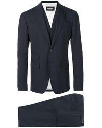 Three piece suit di DSquared² in Blue da Uomo