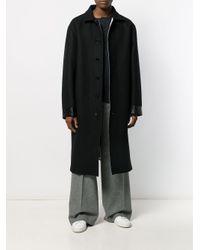 Manteau oversize Jil Sander pour homme en coloris Black
