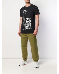 メンズ Henrik Vibskov Right Arm Farm Tシャツ Black