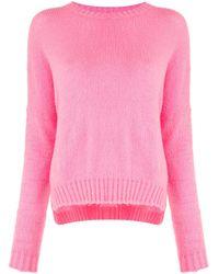 Jersey con cuello redondo Avant Toi de color Pink