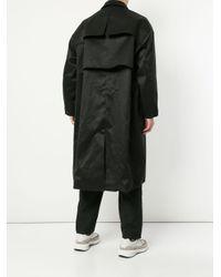 Trench reversibile di Yoshio Kubo in Black da Uomo