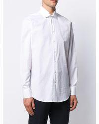 Рубашка С Вышивкой Etro для него, цвет: White