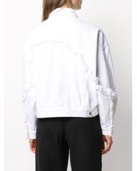 J Brand カットオフエッジ ジャケット White