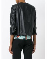 L'Autre Chose Black Rouches Jacket