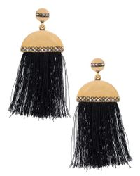 Camila Klein - Metallic Tassel Earrings - Lyst