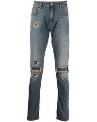 メンズ Represent Underwork ストレートジーンズ Blue