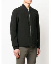 メンズ Attachment パネル ボンバージャケット Black