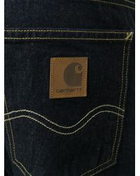 Carhartt Blue Regular Jeans for men