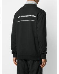 メンズ Undercover プリント スウェットシャツ Black