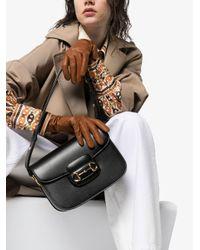 Sac porté épaule Black Morsetto à détail de mors métallique Gucci