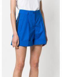 P.A.R.O.S.H. Blue Shorts