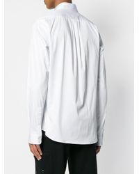Diesel Black Gold White Serious Hybrid Printed Shirt for men