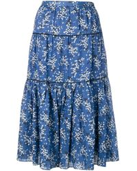 Ulla Johnson Auveline スカート Blue