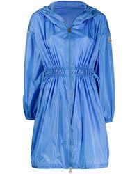 Moncler Lichen レインコート Blue