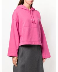 Acne Joghy パーカー Pink