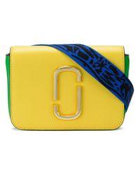 Marc Jacobs Yellow Double J Crossbody Bag