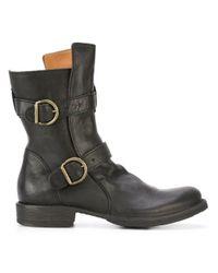 Fiorentini + Baker Black 'eternity 713' Boots