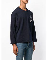 メンズ Visvim スウェットシャツ Blue