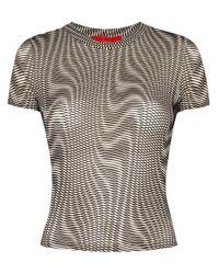 Eckhaus Latta Burnout Tシャツ Multicolor