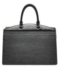 Louis Vuitton 2009 プレオウンド エピ リヴィエラ ハンドバッグ Black