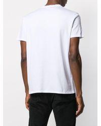 メンズ Just Cavalli ロゴ Tシャツ White