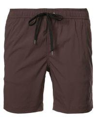 "Onia Brown Charles 7"" Swim Shorts for men"