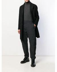 メンズ Bottega Veneta テクニカルコットン パンツ Black