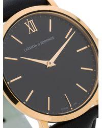 Larsson & Jennings Metallic Ljxii Round-face Watch