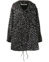 Cappotto con decorazione di Jourden in Black