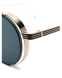 Thom Browne Metallic Tb-106 Sunglasses