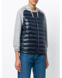 Herno Blue Ultralight Gym Jacket