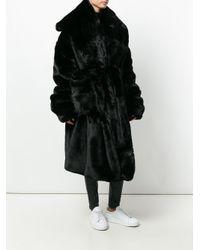Nelly Johansson | Black Shawl Collar Coat | Lyst