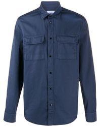 Dondup Hemd mit aufgesetzten Taschen in Blue für Herren