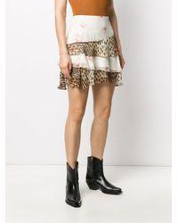 R13 Palef ミニスカート Multicolor