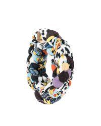 Bracelet perlé à breloques logo Missoni en coloris White