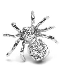 Wouters & Hendrix Metallic Diamond Spider Earring