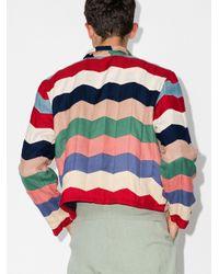 メンズ Bode シェブロン スウェットシャツ Multicolor