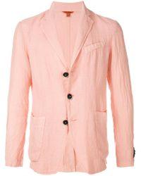 Barena Pink Summer Blazer for men