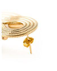 Lara Bohinc Yellow 'saturn' Earrings
