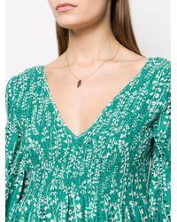 Collar con colgante de hoja Isabel Marant de color Multicolor