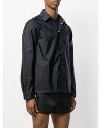Prada - Blue Lightweight Collared Jacket for Men - Lyst
