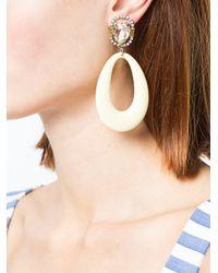 DANNIJO Metallic Elvis Earrings