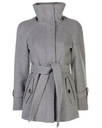 Cappotto con cintura Ivaw di Mackage in Gray