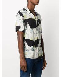 メンズ AllSaints Soaring ショートスリーブ シャツ Black