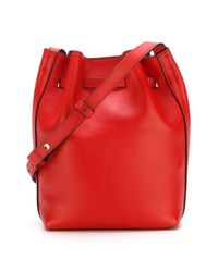 Elena Ghisellini - Red Mini 'scarlet' Crossbody Bag - Lyst