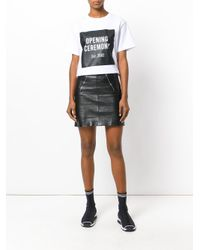 Opening Ceremony White Printed T-shirt