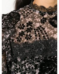 Blusa Hoodoo di Three Floor in Black