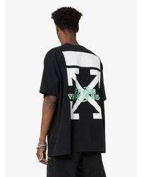 メンズ Off-White c/o Virgil Abloh Waterfall Tシャツ Black