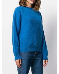 YMC クルーネック セーター Blue